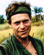 Willem Dafoe Autograph Signed Photo - Platoon